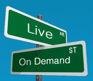 live and on demand