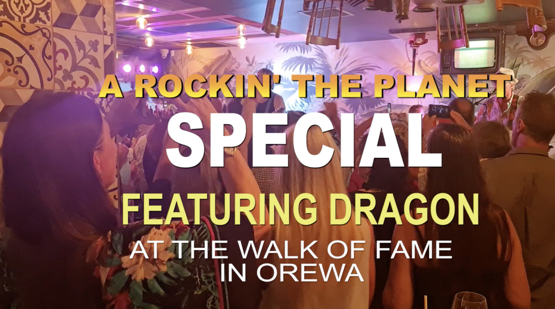 Rockin' The Planet Special With Dragon And Mark Williams