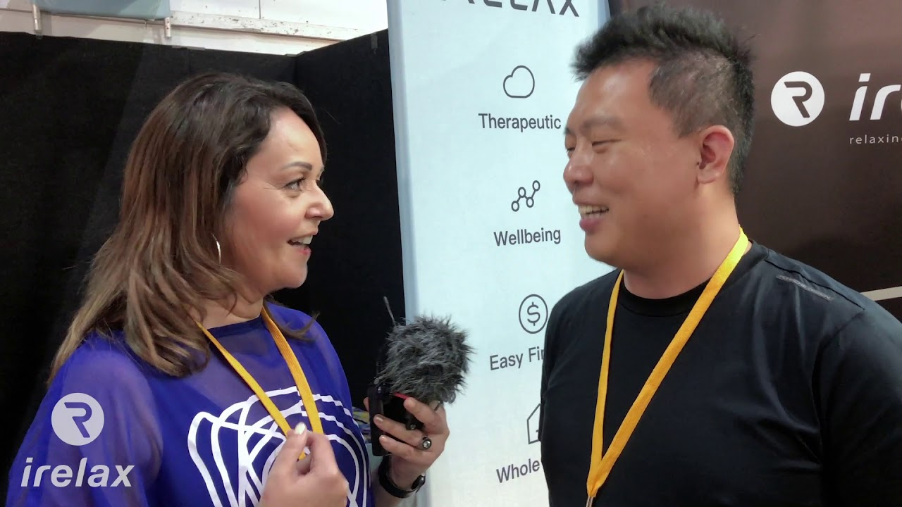 Irelax Massage Chairs Interview With Owner Alex Su